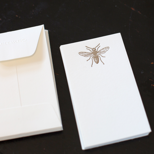 Gold Bee Gift Card Set