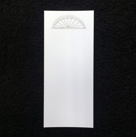 architectural note pad, fan light, southern , archeitecture