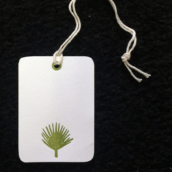 palm, letterpress, gift tags, gift, nautical, beach, island life,