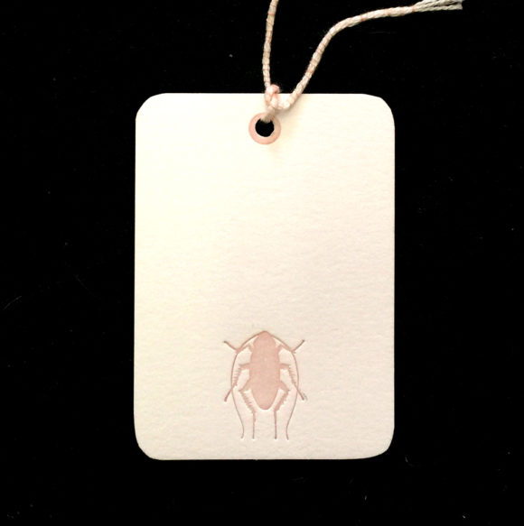 bug, roach, palmetto bug, gift tags,